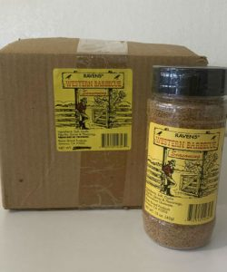 Western Barbecue Seasoning - Case (15 oz/12 pk)