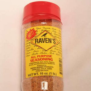 All Purpose Seasoning HOT 16 oz