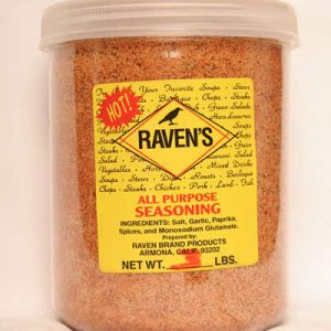 All Purpose Seasoning HOT 3lbs