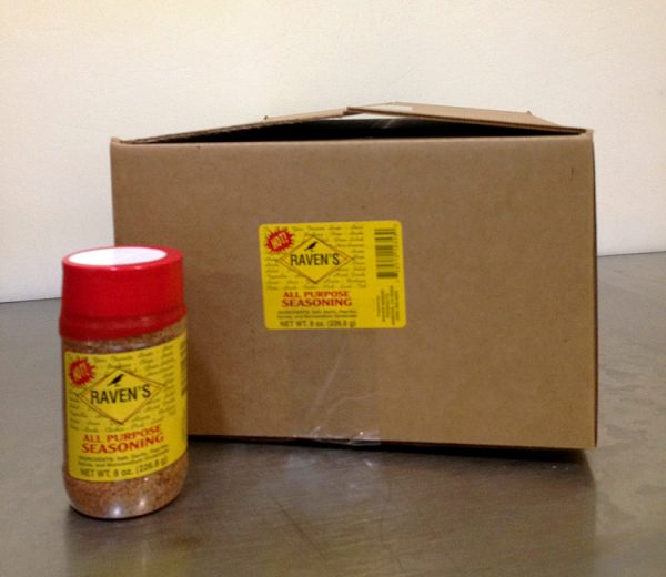 All Purpose Seasoning HOT - Case (8oz/24pk)
