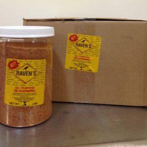 All Purpose Seasoning HOT - Case (3lbs/6pk)