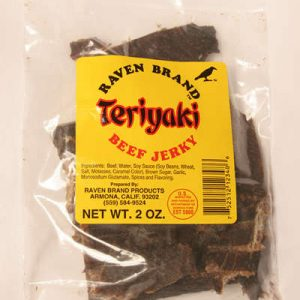 Teriyaki Jerky 2oz Bag