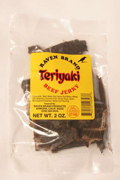 Teriyaki Jerky 2oz Bag