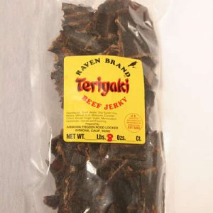 Teriyaki Jerky 8oz Bag