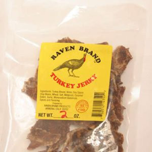 Turkey Jerky 2oz Bag