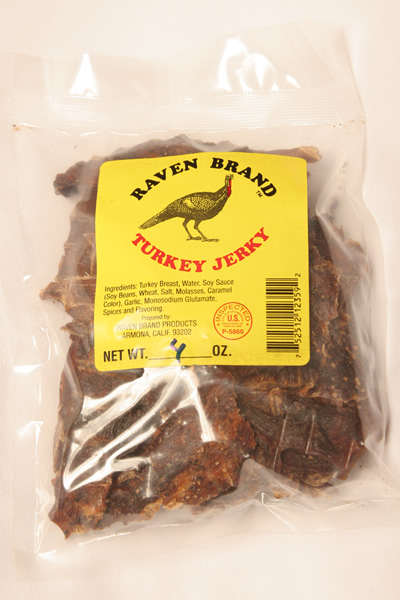 Turkey Jerky 4oz Bag