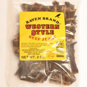 Western Style Jerky 2oz Bag