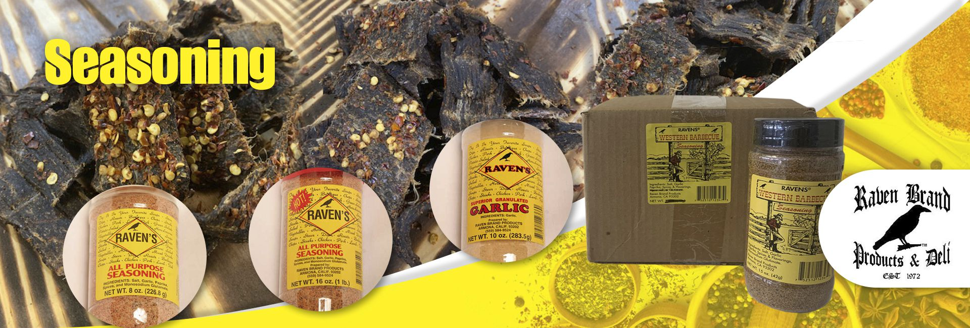 Raven Brand Seasoning