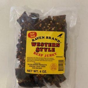 Western Style Jerky 4oz