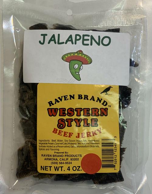 Jalapeno Western Style Jerky 16oz. Bag