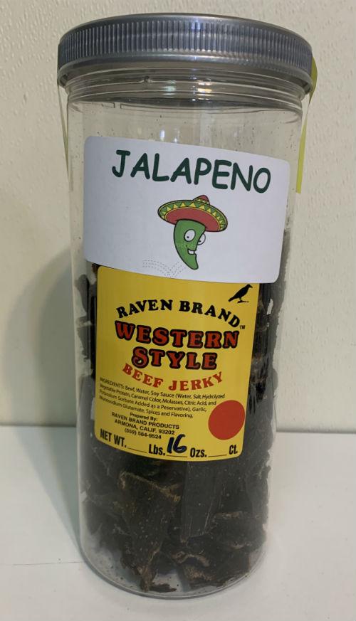 Jalapeno Western Style Jerky